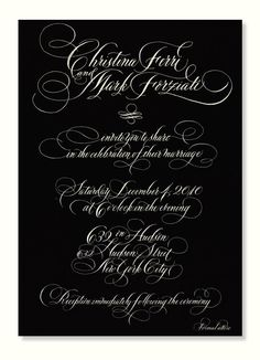 Calligraphy in the Nation's Capital - America's Table Lettering Ideas, Lee Ann, Unique Invitations, Fountain Pen Ink, Penmanship, Handwriting, Make Me Smile, Pens, Script