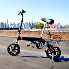 Space-Efficient Electric Bikes:  Designed for city-dwellers but capable of being enjoyed anywhere, Brooklyn-based Brooklyness has created this collapsible electric bike. In doing so, it's helped to provide a solution for a problem that every major city deals with: too many people and not enough space for their stuff.