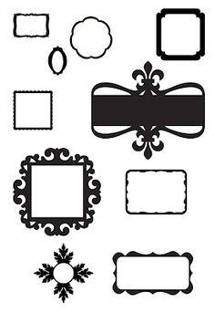 {FREE Cut File} Frames ~ KLDezign SVG