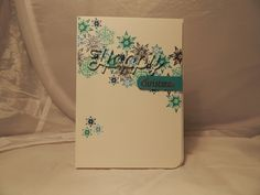 Craft-E-Place: Happy Snowflakes . Cardmaking And Papercraft, Clear Stamps, I Card, Snowflakes, Christmas Cards, Card Making, Crafting, Paper Crafts, Happy