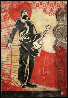 """Mixed Media Archive: """"OBEY INTERPOL CARLOS"""""""
