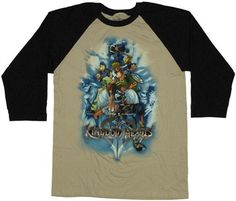 Kingdom Hearts Group T-Shirt
