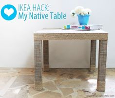 5 Makeover DIY Projects for Small IKEA LACK Table You'll Love