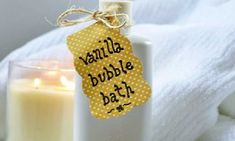 DIY Vanilla & Honey Bubble Bath - After a long and tiring day, you need to have something that could pamper your body and soul, literally. There can be no better option than to get indulged in the luxurious and utterly relaxing bubbly body bath. Body bath not only calms you down after a hectic day, but also rejuvenates your lost energy, making you feel invigorated and zealous. Enjoy : )