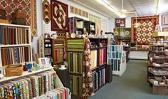 Quilters facing creative quandaries flock to Mercantile on Main in Coshocton, Ohio, where solutions and inspiration abound.