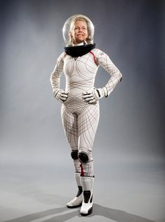 ACTION WEAR: MIT professor Dava Newman [above] proposes an extreme makeover of the old suits. In her BioSuit, she ditches the gas pressurization system for mechanical counterpressure, created by wrapping layer upon layer of flexible material around the body.