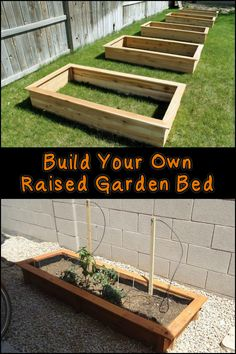 Raised garden beds have many benefits. They are easy on your back and gives your plants good drainage and generally better soil quality. Could this be your next project for the garden?