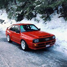 … wo alles angefangen hat❤️ - New Sites Audi 80, Red Audi, Audi Cars, Sport Quattro, Audi Quattro, Automobile, Winter Car, Audi Sport, Rally Car