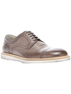 Dolce and Gabbana Leather Brogue Shoe
