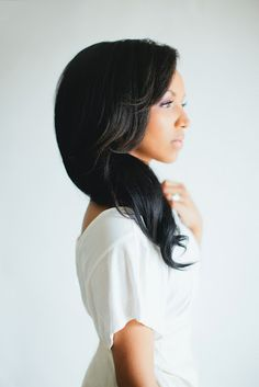 Side Swept Waves — Great hairstyle that's polished and flattering on all face shapes.