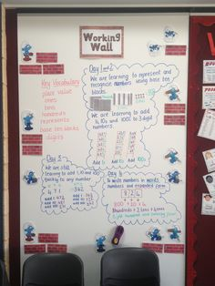 Place Value Working Wall Display Boards, Display Ideas, Maths Working Wall, Place Value Blocks, Gcse English Language, Teaching Place Values, Teaching Courses, Base Ten Blocks, Maths Resources
