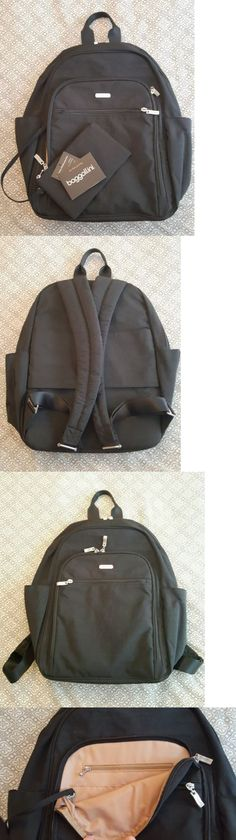 Briefcases and Laptop Bags 169293: Women S Baggallini Slb166 Essential Rfid Laptop Backpack Black Sand Nwt -> BUY IT NOW ONLY: $58.4 on eBay!