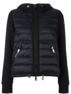 Moncler sweatshirt sleeve padded jacket