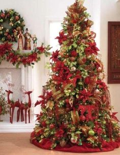 decoratedchristmastrees - Google Search