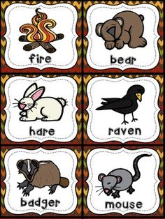 Bear Snores On - Literacy and Math Activities for Kinders Literacy Stations, Preschool Activities, Preschool Names, Preschool Kindergarten, 1st Grade Books, Bear Drawing, Animal Cards, Too Cool For School