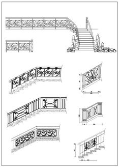 9 Best Ornamental Stair and Elevation images in 2017 | Cad