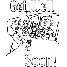 Top 25 Free Printable Get Well Soon Coloring Pages Online Hello