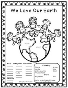 "Earth Day Fun Packet and Posters.  Fun language arts printables for Earth Day!  Fun puzzles and activity pages.  Also included are cute and colorful posters for Earth Day! Buyer said, ""LOVE this!!! Will be using it in the next weeks."" $"