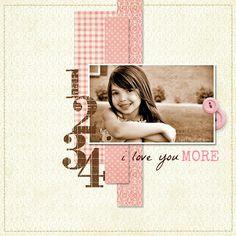 1 2 3 4....I Love You More