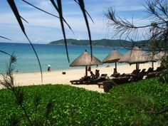Der Strand von Yalong in Sanya Sanya, Outdoor Furniture, Outdoor Decor, Strand, Hammock, Patio, China, Home Decor, Tour Operator