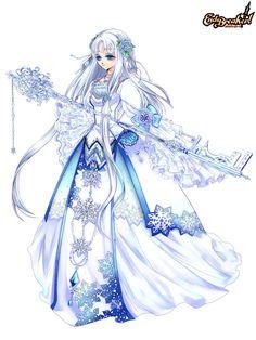 宇宙之神的夢幻美麗世界的守護者 冰之公主:雪姬