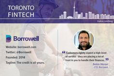 Borrowell, as the name suggests, aims to help Canadians borrow, well — well. This fintech is on a mission to offer individuals a fast, fair and friendly way to loan money. Loan Money, Well Well, The Borrowers, Finance, Names, Technology, Blog, Tech, Tecnologia