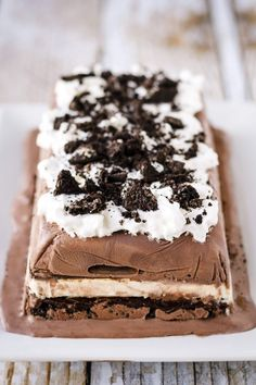 No-Bake Ice Cream Cakewomansday
