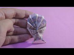 44 Trendy Ideas For Origami Easy Star Dollar Bills Origami 3d, Origami Music Note, Easy Money Origami, Origami Xmas Tree, Origami Pokemon, Money Origami Heart, Dragon Origami, Origami Pumpkin, Origami Penguin