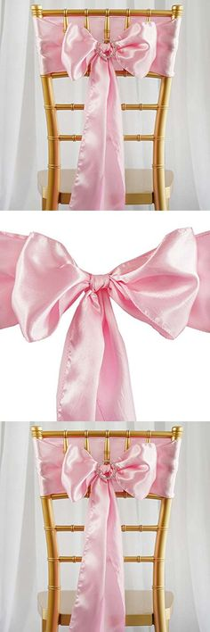 Meijuner 25pcs Chair Sashes Organza Sashes Chair Bow For Wedding Party Birthday Chair Decoration 25 Colors Available (Tuquoise) | Wedding Chairs | Pinterest ... & Meijuner 25pcs Chair Sashes Organza Sashes Chair Bow For Wedding ...