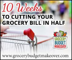 Need to stop overspending on groceries? Check out my PROVEN makeover program to get your grocery spending back under control!