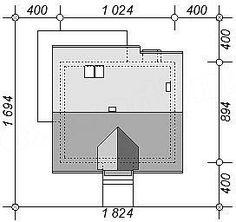 Usytuowanie projektu Armanda Mała na działce Malaga, Floor Plans, House, Home Plans, Home, Homes, Floor Plan Drawing, Houses, House Floor Plans