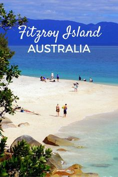 Guide and tips to visiting Fitzroy Island by the Great Barrier Reef in Australia with kids. See what you can do on a day trip to this beautiful island from Cairns.