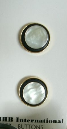 Vintage mother of pearl 3/4 in buttons set of by ToppyToppyKnits, $6.00