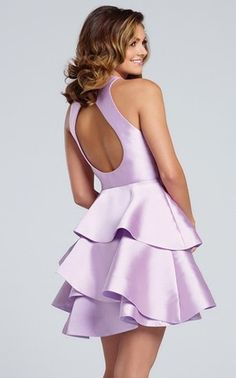 Shop short prom dresses and short formal gowns at PromGirl. Short prom dresses, formal short dresses, semi-formal short dresses, short party dresses for prom, and short dresses for prom Lilac Prom Dresses, Best Prom Dresses, Cute Dresses, Short Dresses, Prom Girl, Short Prom, Formal Gowns, Retro, Ball Gowns