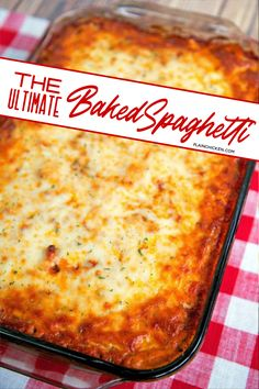 The Ultimate Baked Spaghetti The Ultimate Baked Spaghetti – cheesy spaghetti topped with Italian seasoned cream cheese, meat sauce and mozzarella cheese – SOOOO good! Makes a great freezer meal too! We ate this two days in a row! Baked Spagetti, Cheesy Spaghetti, Spaghetti Casserole, Spaghetti Recipes, Pasta Casserole, Casserole Recipes, Pasta Bake Recipes, Spaghetti Sauce, Italian Dishes