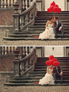 I'm obsessed with wedding balloons