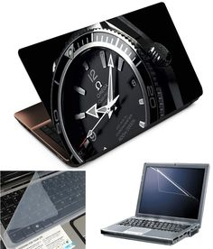 Finearts 3 In 1 Laptop Skins Pack 15 6 Inch Black Watch.      make your choice and have some discount with latest product  only in bestoffershops. it is one of the biggest online shopping site where you can purchase products at normal rate with some offers.