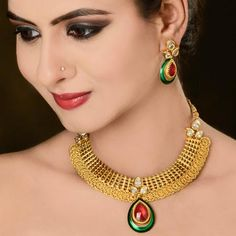 1000+ images about Designer Goldplated Jewelry Collection ...