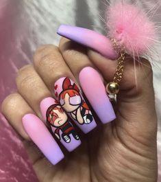 How to choose your fake nails? - My Nails Aycrlic Nails, Dope Nails, Stiletto Nails, Swag Nails, Grunge Nails, Glitter Nails, Gorgeous Nails, Pretty Nails, Nails Ideias