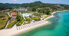 Greece Hotels, Family Resorts, Palace Hotel, Hotel Spa, Mansions, Luxury, House Styles, Outdoor Decor, Family Friendly Resorts