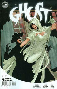 Ghost. Dark Horse Comics.