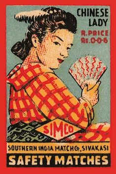 Thousands of companies manufactured matches worldwide and used a variety of fancy labels to make their brand stand out. The match boxes had unusual topics but some were much prettier than others.