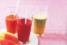 Fruity Cleanser This watermelon fruit juice will make you feel better from the inside out.