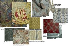New Interior Decorating Sample Boards just Posted #fabrics #homedecor #interiordesign