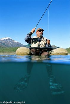 Belly Boats fly fishing in Patagonia Argentina Pesca con mosca con Belly Boats en Patagonia Argentina #flyfishing   #patagonia   #argentina   #outdoors   #underwater
