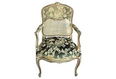 Louis XV-Style Fauteuil | Cannes Spirit | One Kings Lane