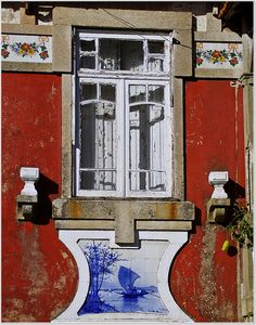 Portugal/love this old style window.