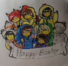 Happy Easter 2016 by Squira130 on DeviantArt
