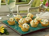 Picture of Mini Phyllo Cups Filled with Shrimp Salad Recipe