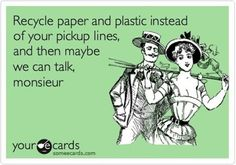 Perhaps good #humor works more effectively… #GoGreen